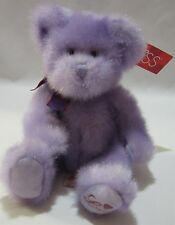 Russ Teddy Bear Aphrodite Plush Purple Stuffed Animal Toy Soft Cute With Tags 9""
