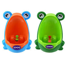 Frog Kids Baby Toddler Potty Toilet For Boy Training Urinal Pee Bathroom Home
