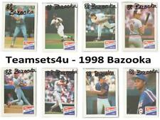 1988 Bazooka Baseball Set ** Pick Your Team **