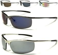 NEW X-LOOP SUNGLASSES MENS LADIES WOMENS METAL WRAP SPORTS RIMLESS RUNNING GOLF