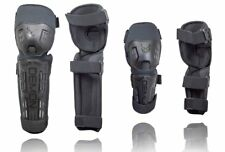 Demon Tactic Knee Shin And Elbow Guards Combo Pack BMX Mountain Bike Motorcycle