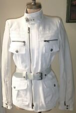 DIESEL BLACK GOLD WOMENS KOLINS WHITE JACKET  NEW WITH TAGS free post in uk