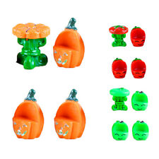 4 pcs Resin Crafts Figurines Micro Landscape DIY Garden Miniatures Fruits