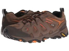 NEW Mens MERRELL Dark Earth Brown MOAB FST LEATHER WATERPROOF Hiking Boots Shoes