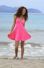 Halter Neck Mini Dress Summer Dress Beach Dress Backless Beachwear 5 Colors