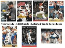 1998 Sports Illustrated World Series Fever Baseball Set ** Pick Your Team **
