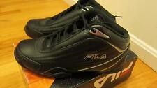 FILA Slam 12C Basketball Mens Shoes Black Sz 10/10.5 - NWOB $65