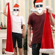 Hat Christmas Santa Adult Kids New Year and Christmas Decoration Party Decor Hat