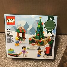 LEGO 40263 Christmas Town Square 2017 Holiday Seasonal Set