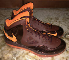 NIKE Air Max HyperPosite Team Brown Orange Basketball Shoes Sneakers NEW Mens 16