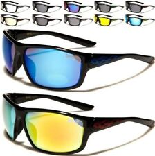 NEW SUNGLASSES CHOPPERS LARGE WRAP BIG UV400 MENS LADIES BIKER MOTOR CYCLE FLAME