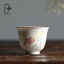 Chinese Porcelain Pure Hand-painted Tea Cup Collection Tea Set wine cups