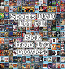 Sports DVD Lot #1: 175 Movies to Pick From! Buy Multiple And Save!