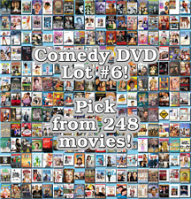 Comedy DVD Lot #6: 248 Movies to Pick From! Buy Multiple And Save!