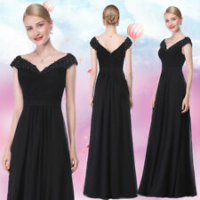 Ever-Pretty 2017 New Short Black Prom Dress Bridesmaid Dress Party Size 4-16