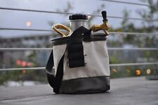 GrowlerWerks Durable Canvas Carrying Bag for uKeg Growlers Holds CO2 Cartridges