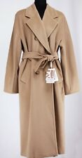 Max Mara 101801 Madame Iconic Wool Cashmere Double Breasted Coat Msrp $3490.00