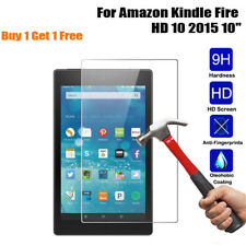 (Buy 1 Get 1 Free) Tempered Glass HD Screen Protector For Kindle fire HD10 2015