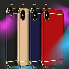 Luxury Ultra thin Slim Hard Armor Back Case Hybrid Cover For Apple iPhone X Case