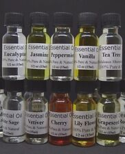 New Pure Essential Oil  Fragrance Aromatherapy Undiluted Way Strong 1/2 oz