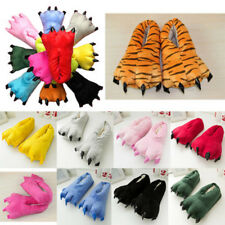 New Adults Cartoon Animal Cosplay Costume Slippers Claw Paw Shoes Indoor Home