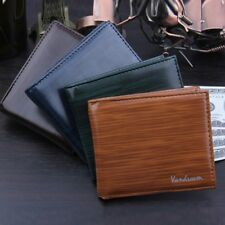 Men Bifold Business Leather Wallet ID Credit Card Holder Purse Pockets CA