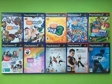 EyeToy Play Playstation 2 PS2 PAL Games Selection List + Free UK Delivery