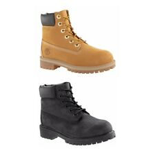 New Timberland Boots 12907 12909 Nubuck 6 Inch Premium Waterproof Junior
