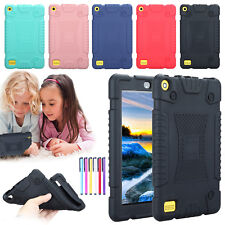 Shockproof Soft Silicone Case Tablet Back Cover Skin For 7''Amazon Kindle Fire 7