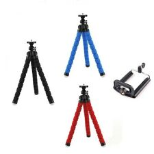 Octopus Tripod Stand For Digital Camera + Holder For Mobile Phone iPhone