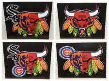 Custom Window Decal Sticker - Chicago Bears, Blackhawks, Bulls, Cubs, White Sox
