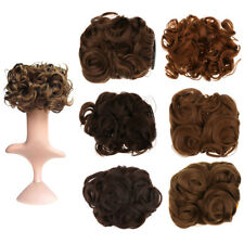Lady Flower Curly Bun Clip In Ponytail Comb Chignon Hair Extension Hairpiece