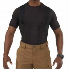 ** Concealed Carry 5.11 Tactical Short Sleeve Crew Holster Shirt BLACK 40011-019