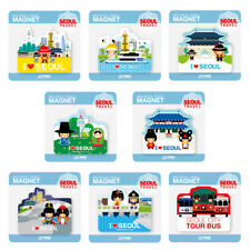 Travel Landmark Seoul Korea Fridge Magnet Refrigerator Magnets Memo Holder Gift
