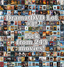 Drama DVD Lot #1: Pick Items to Bundle and Save!