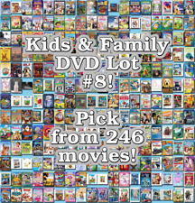 Kids & Family DVD Lot #8: Pick Items to Bundle and Save!