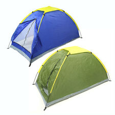 Camping Tent 2 Persons Capacity Waterproof Outdoor Picnics Single Layer Shelters