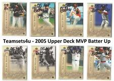2005 Upper Deck MVP Batter Up Baseball Set ** Pick Your Team **