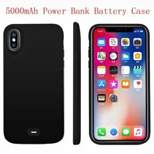 Portable Power Bank External Backup Battery Charge Case New For iPhone X 5000mAh