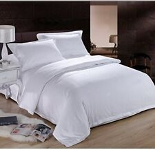 Hotel Collection White Solid 1000 & 1500 TC Bedding Set Cotton All USA Size