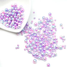 Gradient Color Acrylic Beads Jewelry Accessories UV Resin Encapsulation Craft
