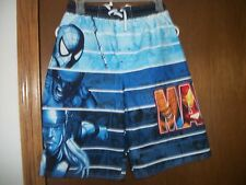 Marvel Spiderman Thor Wolverine Trunks Shorts Swimming NWT 10-12