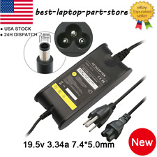 65W AC Power Adapter Charger Supply for Dell Inspiron Laptop Cord US