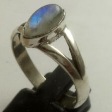 Rainbow moonstone ring  925 sterling silver ring  Moonstone ring size 3 to13