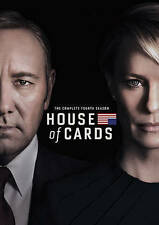 House of Cards ~ Complete 4th Fourth Season 4 Four ~ BRAND NEW 4-DISC DVD SET