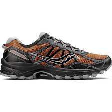 NEW Mens SAUCONY Orange Black Mesh Synthetic EXCURSION TR11 TRAIL Running Shoes
