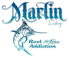 Marlin T shirt,Ocean fishing,offshore,salwater fish,salt,beach,reel,life,sail