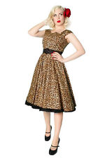 NEW Rockabilly 1950s Full Circle Swing Dress - Miss Fortune Designer 50s Dress