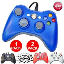 1 or 2 Packs Wired Controller Pad For Official Microsoft Xbox 360 Windows PC VP