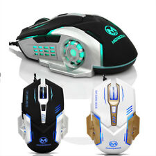 3200 DPI 6D Buttons Fishion LED Mechanical Wired Gaming Mouse For PC Laptop